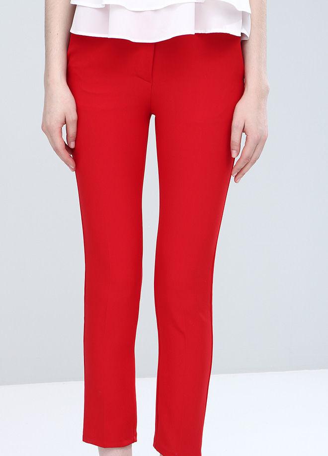 Kırmızı Büyük Bedenı  Pantolon   Pnt17950